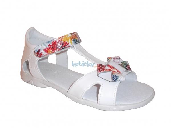 cf66fd6a55258 Kornecki 4752 biele, dievčenské letné sandále | Detská obuv | letná ...