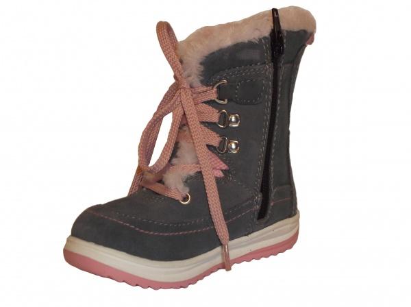 182b343d6e997 Zvětšit Protetika - Bory grey, dievčenská zimná obuv · Zvětšit Zvětšit