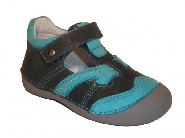 19b8aed627211 D.D.Step - 015-146 sivá chlapčenská jarná obuv | Detská obuv ...