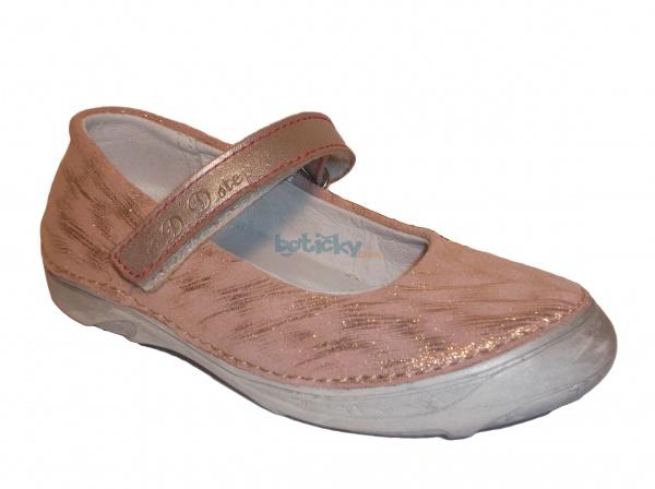 7d8e7695e D.D.Step - 046-602 AM champagne, dievčenská jarná obuv | Detská obuv ...