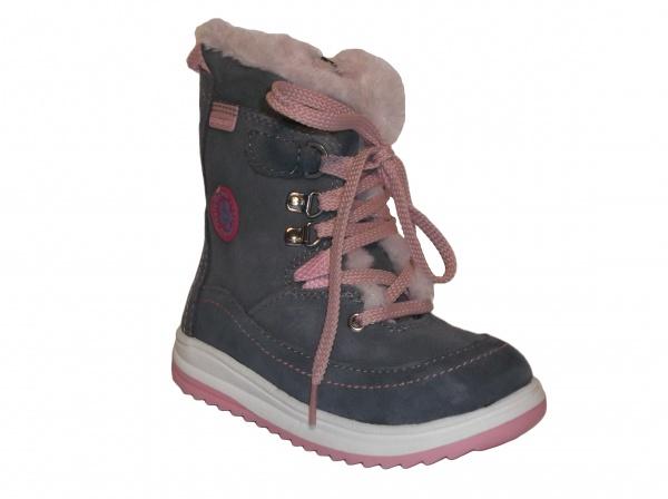 c514bf287d596 Protetika - Bory grey, dievčenská zimná obuv | Detská obuv | zimná ...