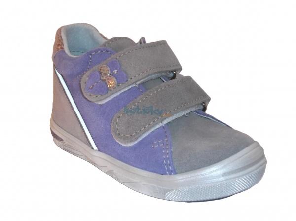 3d1a88e2a3957 JONAP J015/S sivá/fialová, detská celoročná obuv | Detská obuv ...